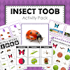 Insect Theme Toob Printable Learning Materials