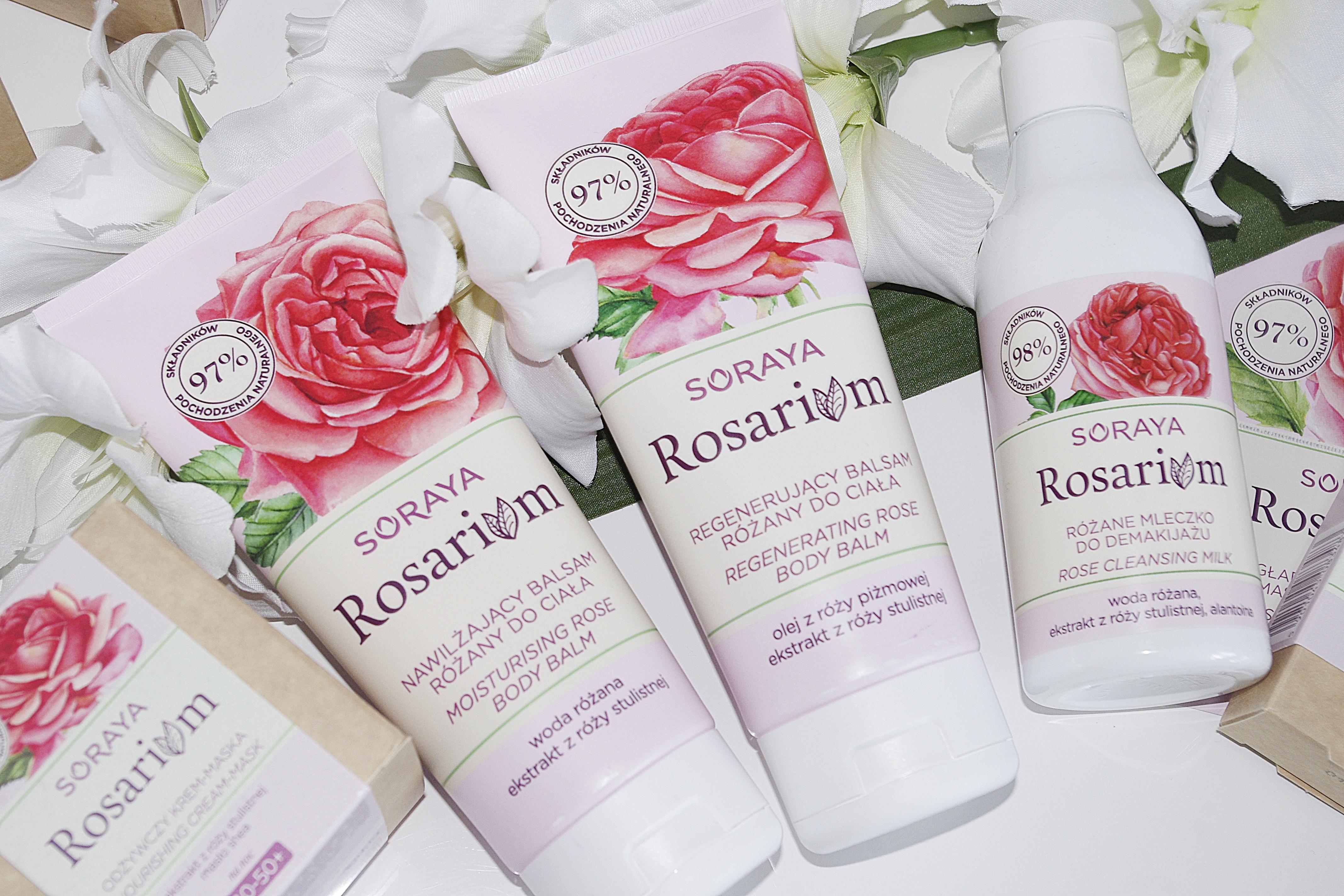Soraya Rosarium Nawilżający regenerujący balsam do ciała Różany