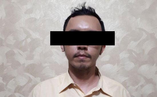 PELAKU : DETIK COM merelease wajah pelaku kejahatan seksual baru baru ini di Depok. Pelaku dengan sengaja meremas payudara sang korban. Kini pelaku sudah ditangani oleh Polisi untuk diinvestigasi lebih lanjut.  Foto DETIK COM