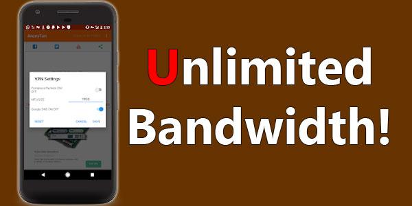 Anonytun Pro APK Unlimited Bandwidth