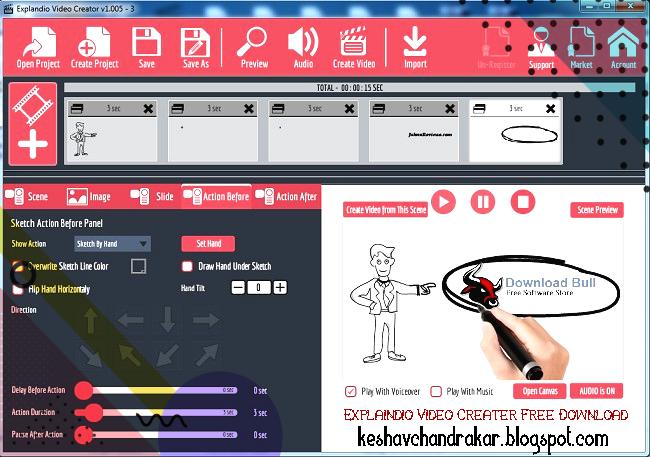 video creator from images free download