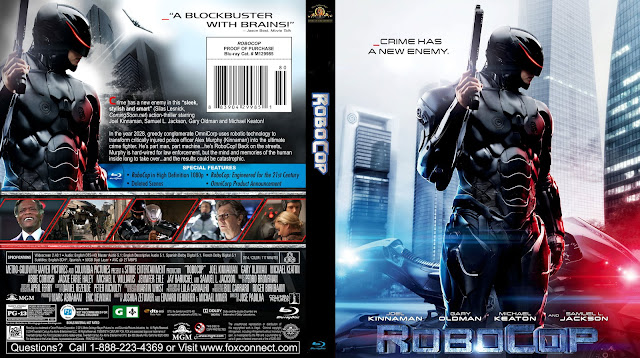 RoboCop (2014) DVD Cover