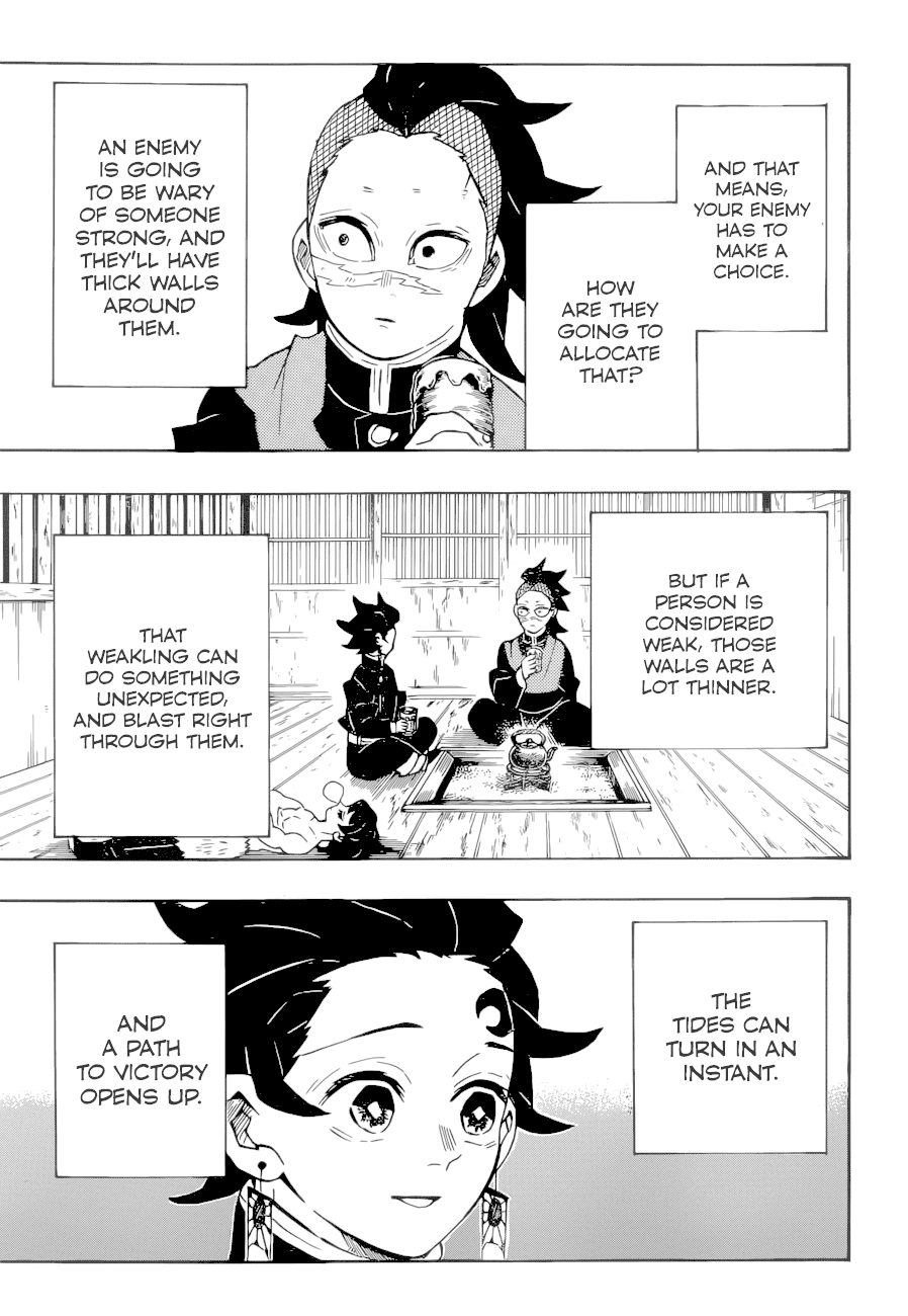Kimetsu no Yaiba: Chapter 172: The potential of the weak - 第18页
