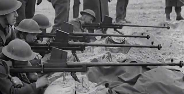 British Boys Antitank rifle with muzzle brake worldwartwo.filminspector.com