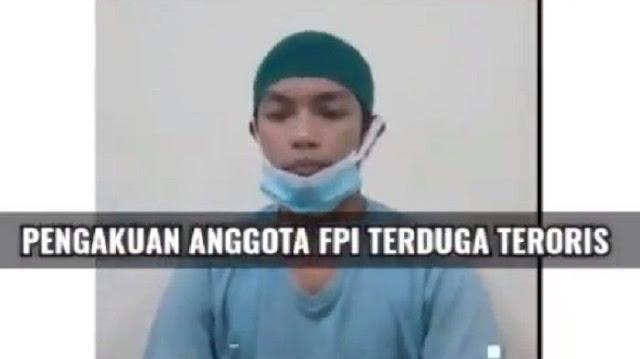 Eks FPI Sulsel Bantah Teror*s yang Ditangkap di Makassar Anggota FPI