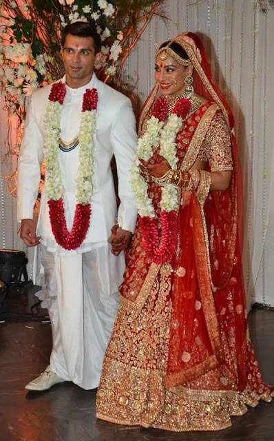 bollywood stars in bipasha and karan marriage function