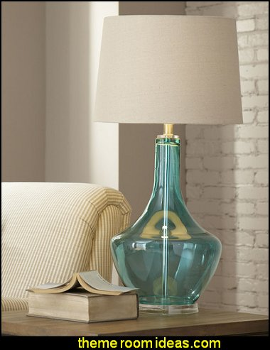 Katia Table Lamp     coastal living style decorating  seaside cottage decorating ideas - coastal living living room ideas - beach cottage coastal living style decorating ideas - beach house decor - seashell decor - nautical bedroom furniture