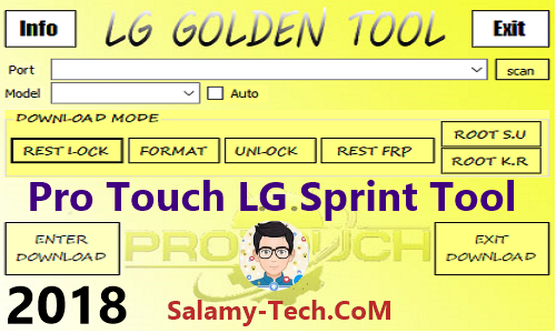 Pro Touch LG Sprint Tool