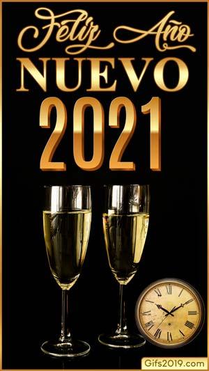 fondos de pantalla feliz año nuevo 2021