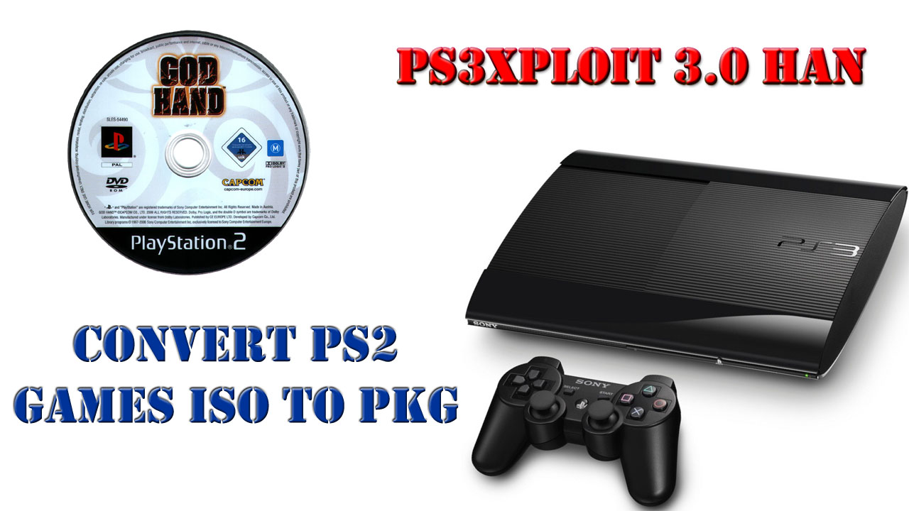 How To Convert PS2 Games ISO To PKG For PS3 Super Slim / Slim OFW