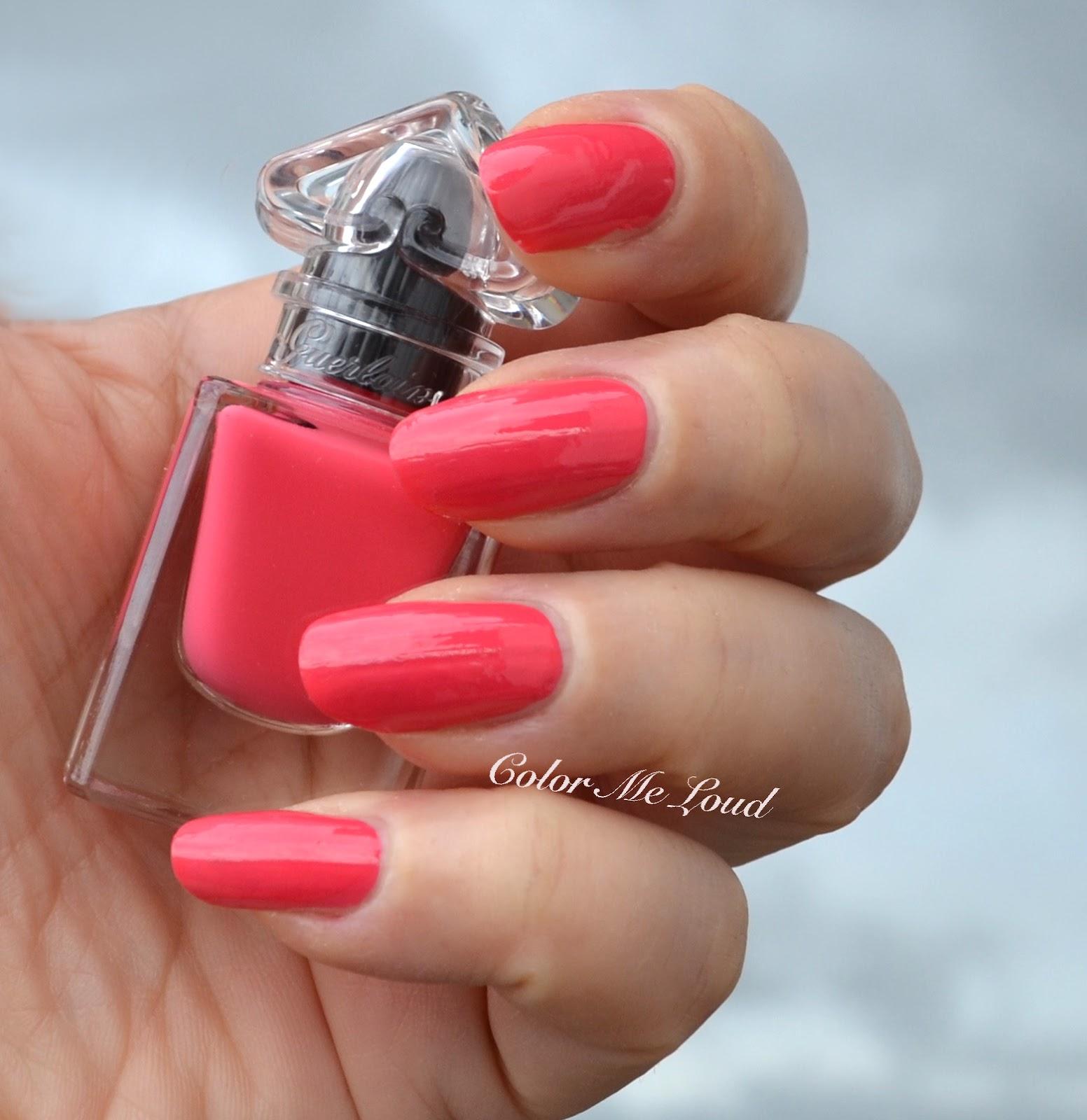 42b036fe892 Swatch  Guerlain La Petite Robe Noire  063 Pink Button