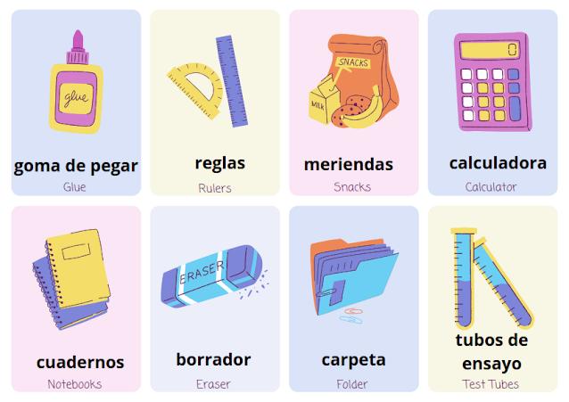 escuela in Spanish