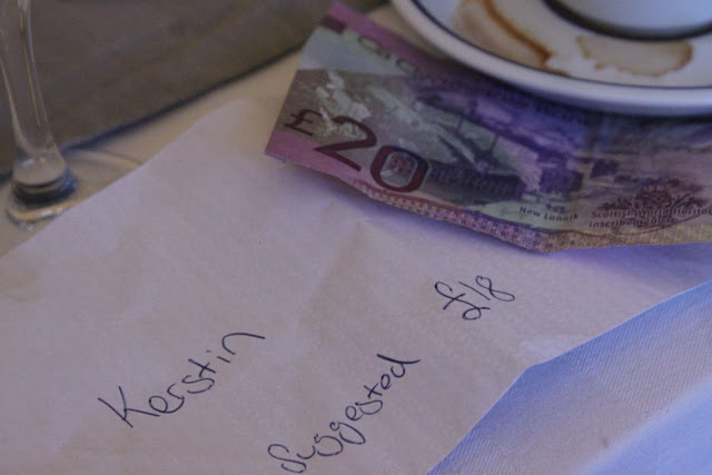 scottish pounds, edinburgh supper club