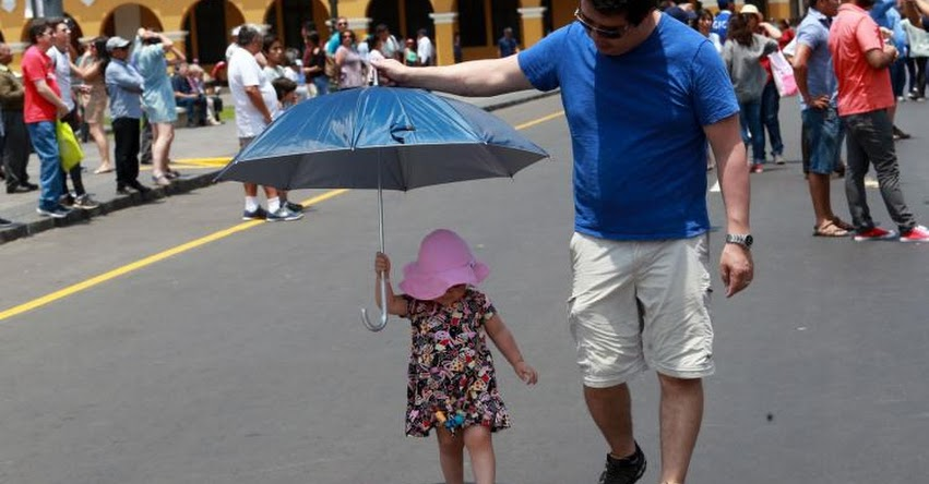 Lima enfrentará tres días de calor de hasta 31 grados