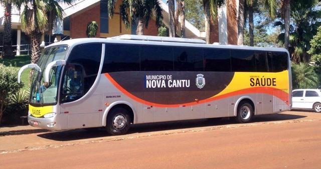 Nova Cantu: E o ônibus reformado chegou!