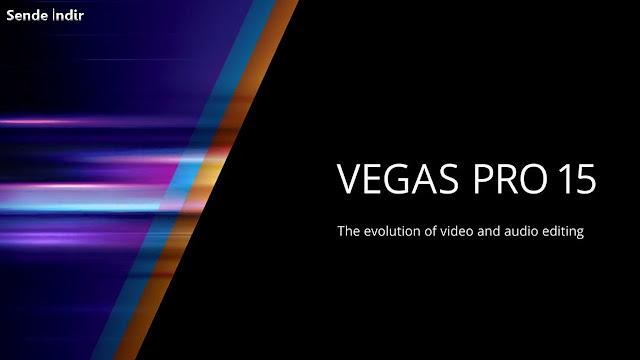 Sony Vegas Pro 15 Full İndir + Türkçe Yama