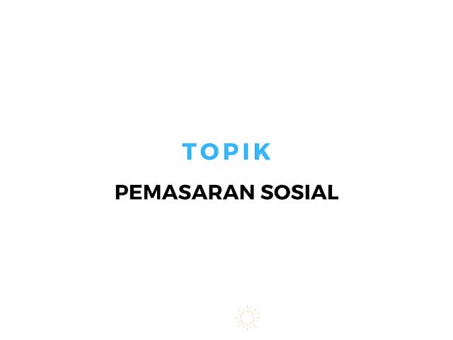 pemasaran sosial