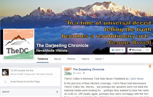 The Darjeeling Chronicle Editor's Interview That Was Never Published by Catch News