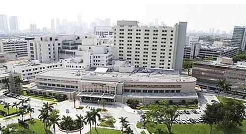 Jackson Memorial Hospital. Image from www.healthcareglobal.com