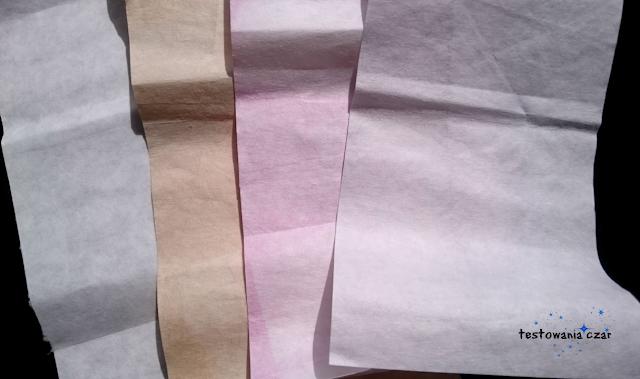 pranie, chusteczki, kolor, farbowanie, testowania czar blog