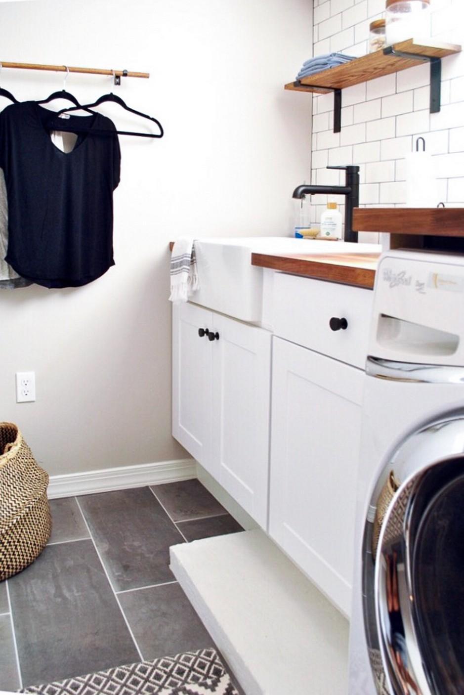 Stunning Inspiration of Laundry Decoration