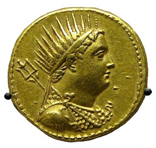 Why Are There 365 Days in a Year? Organizing Dates with an Ancient Egyptian Calendar Gold-coin-depicting-Ptolemy-III