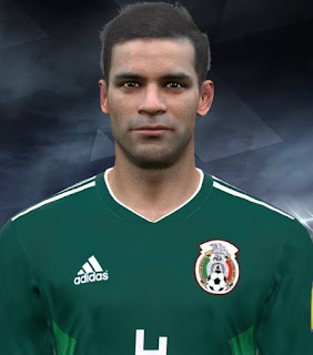 PES 2017 Faces Rafael Márquez by Facemaker Huseyn