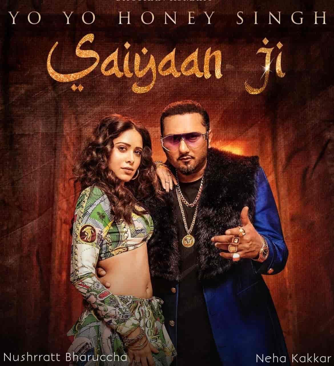 Saiyaan Ji Most Awaited Song Image Features Yo Yo Honey Singh And Neha Kakkar