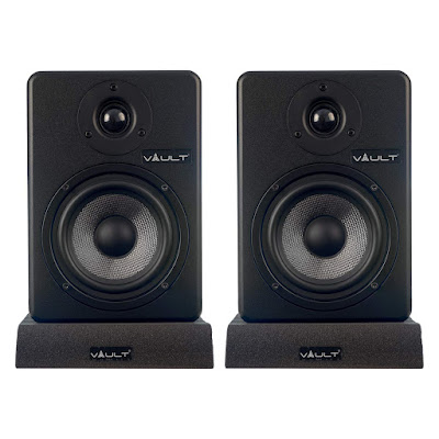 Vault C5 5-Inch Powered Studio Reference Monitors