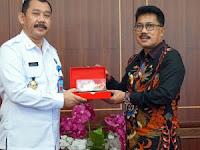 Sekda Lamsel Terima Kunker Kepala BNN Provinsi Lampung