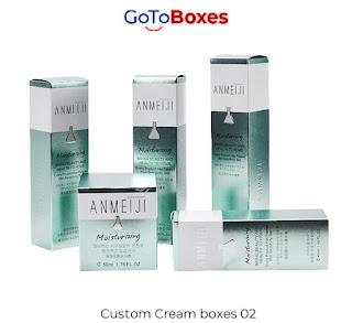Cream Box Packaging