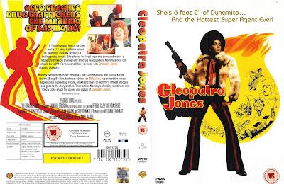 Carátula dvd: Cleopatra Jones (1973)