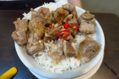 Victor's Kitchen, steamed pork ribs rice