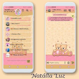 Teddy Bear 2 Theme For YOWhatsApp & Fouad WhatsApp By Leidiane