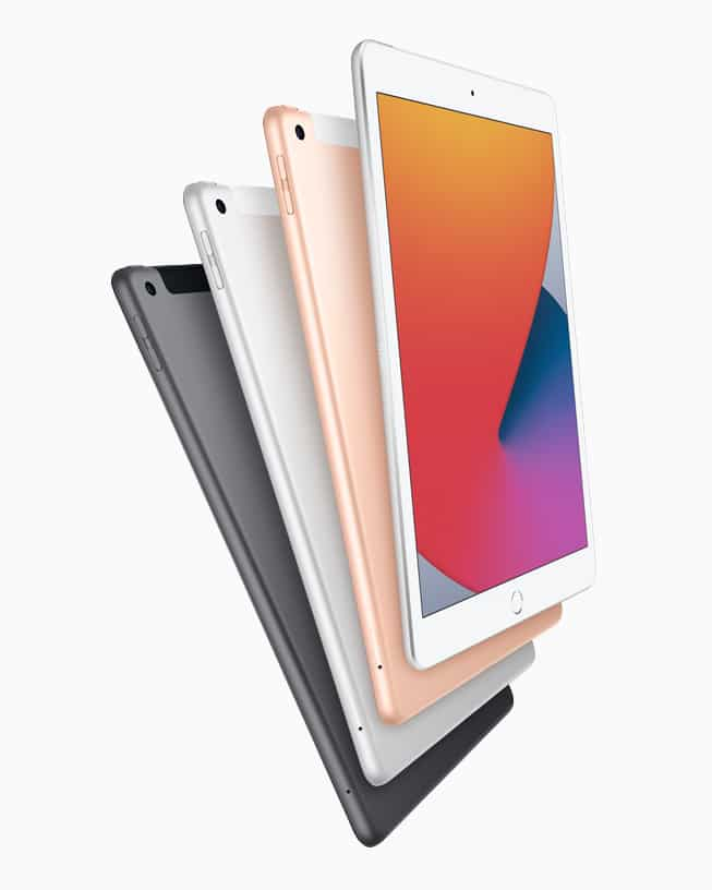 Apple announces the eighth generation of iPad tablets