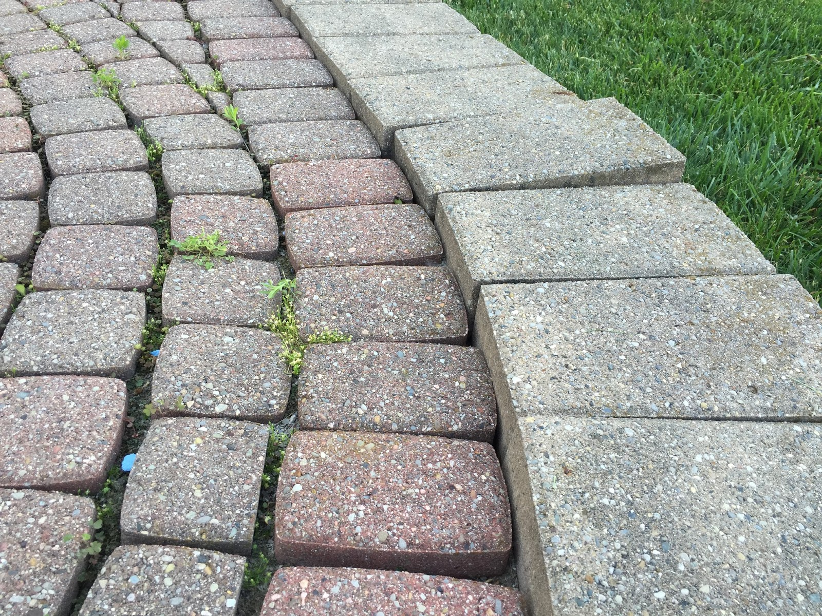 We Assured The Homeowner That All Is Not Lost And We Can Repair And Restore  Their Raised Brick Paver Patio And Paver Step Back To Its Glory Days!