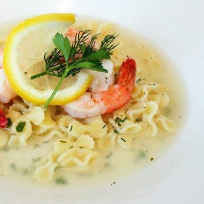 Lemon Dill Shrimp Soup