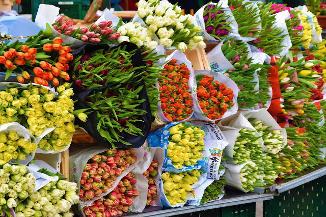 Dadar flower market in mumbai