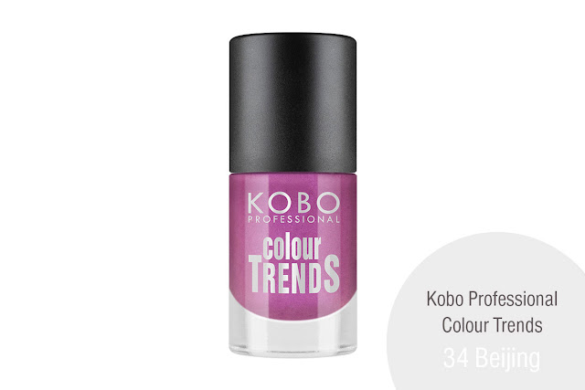 KOBO PROFESSIONAL COLOUR TRENDS NAIL POLISH 34 Beijing