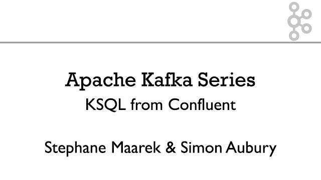 Apache Kafka Series - KSQL for Stream Processing - Hands On