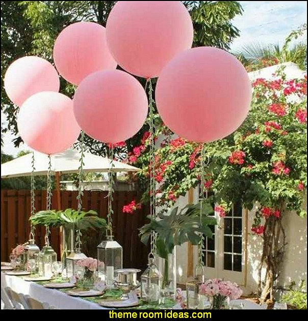 garden party Hanging Plants Silk Ivy Garlands  flower garden tea party themed decorations - Floral Fiesta garden party decor -  Victorian garden party - backyard tea party -  Vintage tea party decorations - birthday tea party -  Spring garden Party - Victorian High Tea style  entertaining - Tea party decorations