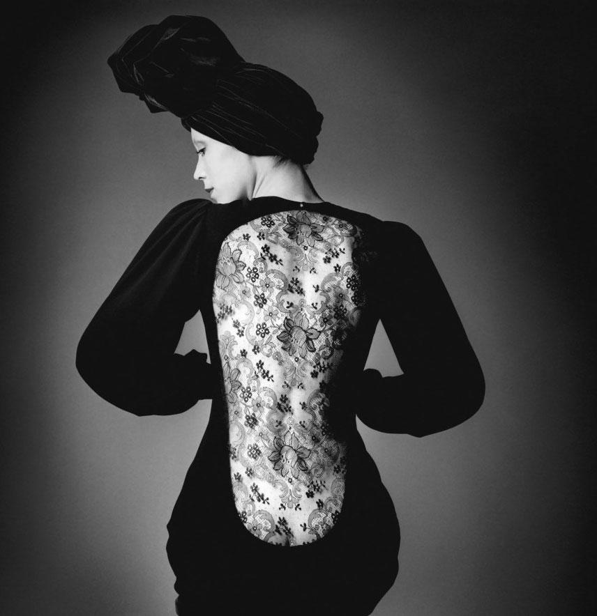 Yves Saint Laurent in Vogue Paris 1970 via www.fashionedbylove.co.uk