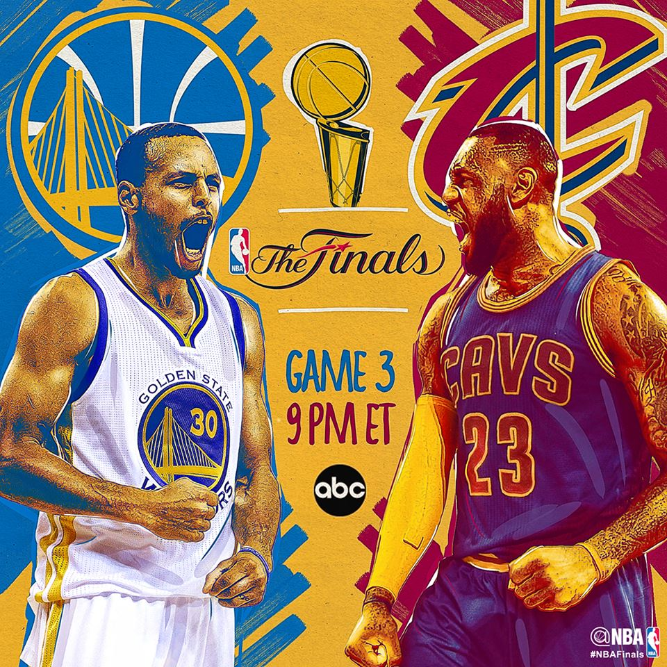 NBA Finals 2015 Game 3: Golden State Warriors vs Cleveland Cavaliers