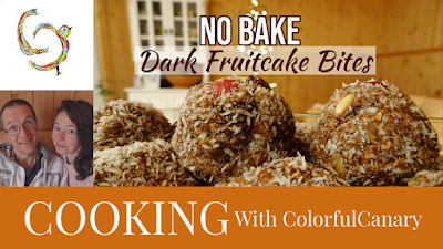 No Bake Fruitcake Bites Recipe