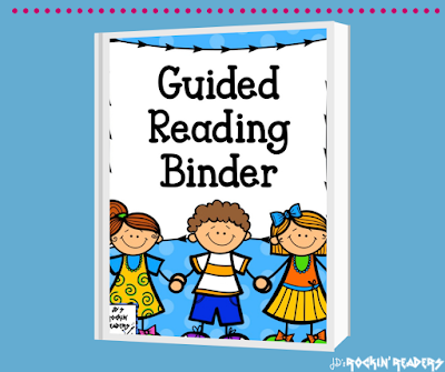 This free guided reading binder will help you get organized!  Great for organizing groups and lesson plans.  Check it out!