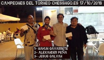Nahun Gavarrete vence el Chessngo.es 17/10/19