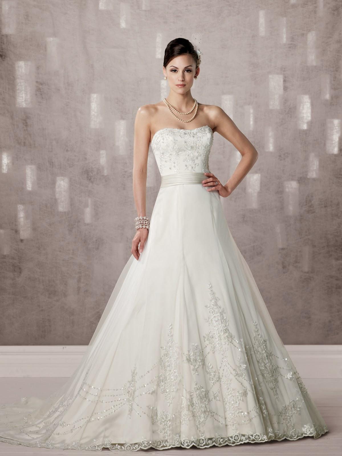Modernos y sencillos vestidos de novia para el 2014 for Novias originales 2017