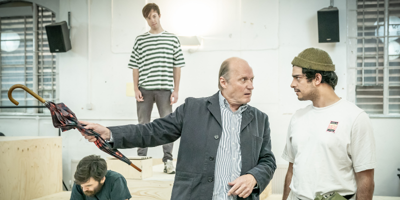 First look inside rehearsals for the Almeida's Once Upon A Time in Nazi Occupied Tunisia