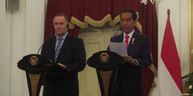 Perdana Menteri Selandia Baru: Kepemimpinan Jokowi Terasa sampai ASEAN