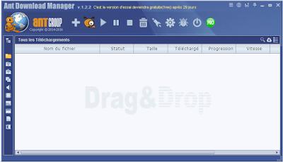 تحميل برنامج التحميل Ant Download Manager1.2.3 البديل لأنترنت دونالد منجر